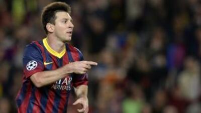 Messi se llevó los galardones como mejor jugador y delantero de la Liga...