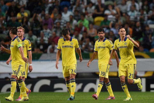 El Chelsea se llevó la victoria de Portugal al derrotar 0-1 al Sporting.