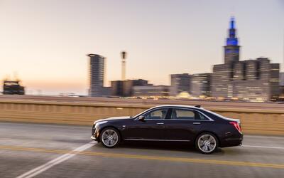 Cadillac está llevando a su CT6 del 2018 —el cual está equ...