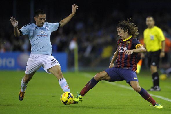 Carles Puyol sigue ganando confianza con sus actuaciones.
