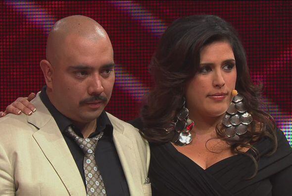 Desafortunadamente Armando Hernández tuvo que abandonar la competencia.