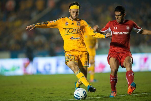 Edgar Gerardo Lugo fue utilizado en el partido de ida en los cuartos de...