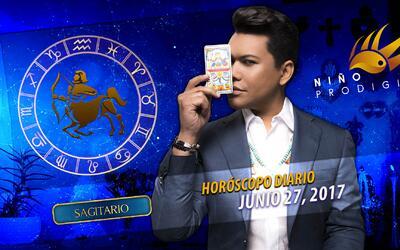 Niño Prodigio - Sagitario 27 de junio 2017