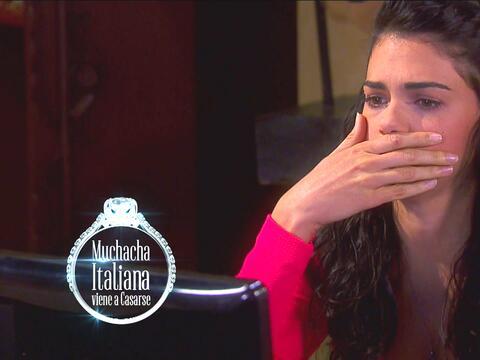 En Muchacha Italiana, una vez más Fiorella cayó redondita...
