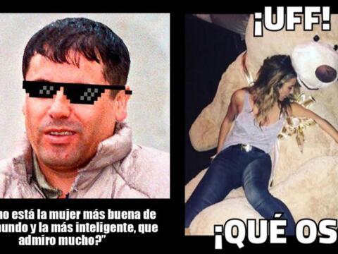 Memes de Kate del Castillo y 'El Chapo'