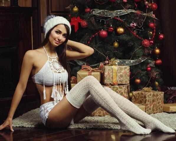 Helga es una modelo rusa que ya se prepara para el próximo mundial de fú...