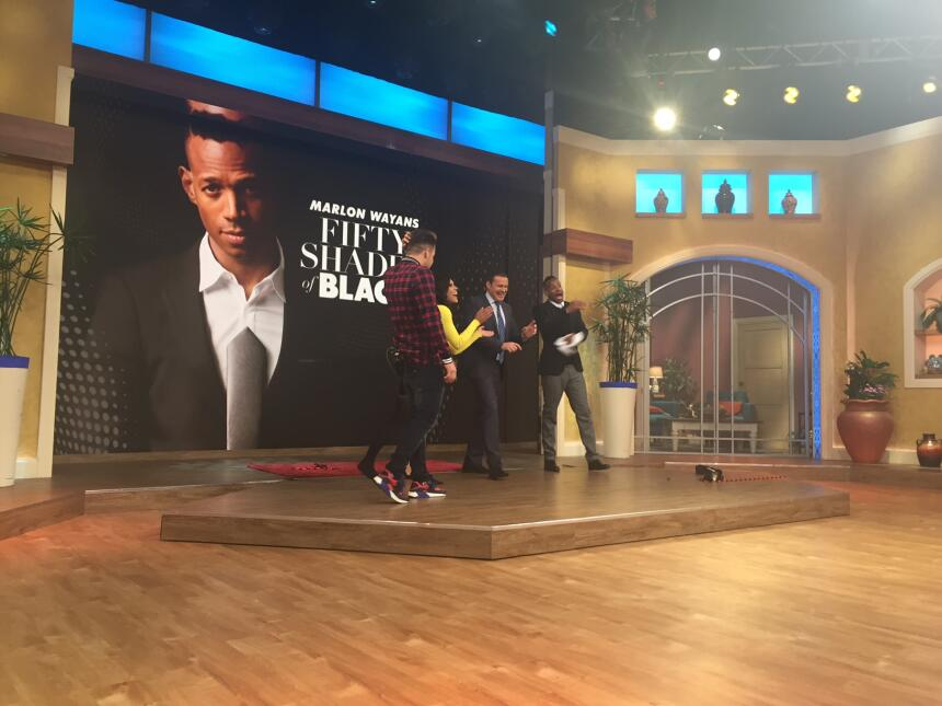 Marlon Wayans de 'Fifty Shades of Black' en Despierta América