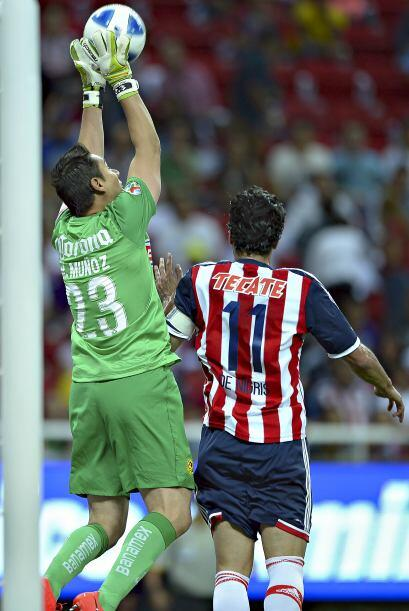 Moisés Muñoz.- EL América goleó y dominó tanto el partido como el marcad...