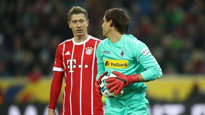 El Bayern perdió con el M'gladbach y cedió terreno en el liderato de la Bundesliga