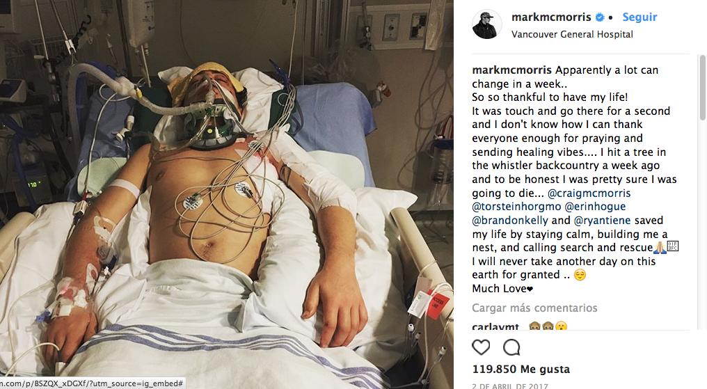 Mark McMorris ganó bronce en Olímpicos de Invierno tras accidente que ca...