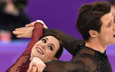 Virtue y Moir ganaron oro en Vancouver 2010 y plata en Sochi 2014.