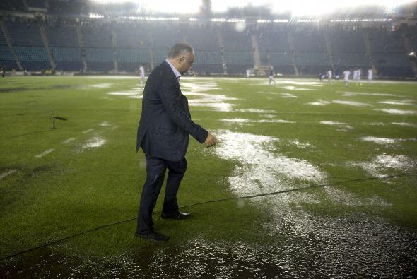 Otra tormenta similar se registró durante el juego de la fecha Tres ante...