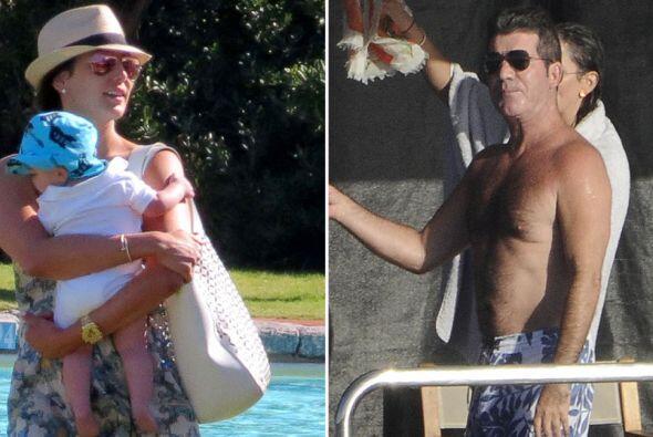 El director pasó unas lindas vacaciones con su familia en Italia.