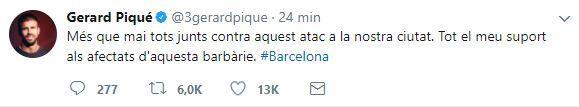El mundo del deporte se solidariza con las víctimas de Barcelona BCN39.JPG