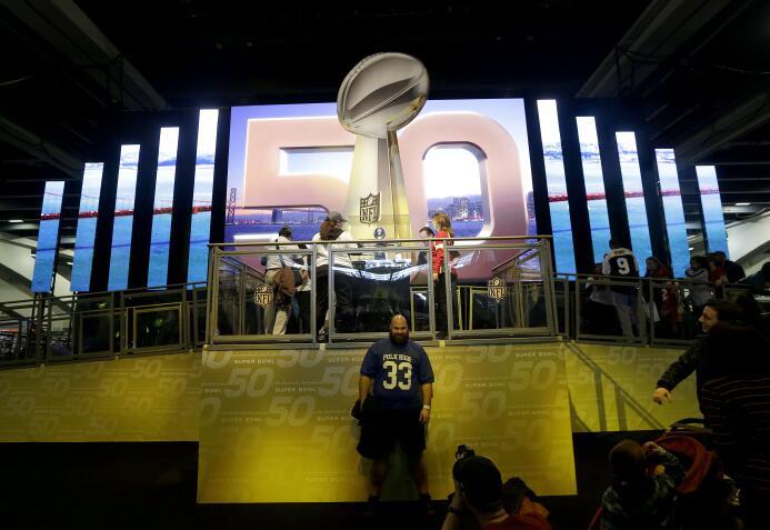 Con motivo del aniversario 50 del juego más importante en la NFL, la ciu...
