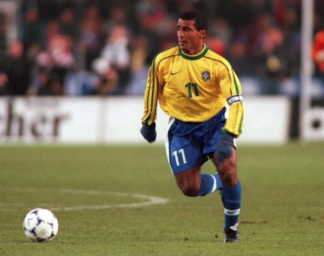 Delantero: Romario (Brasil) - Francia 1998