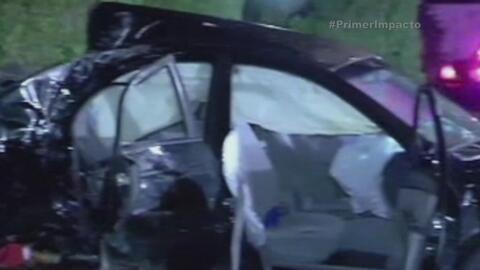 Adolescente provoca accidente dejando a un menor muerto