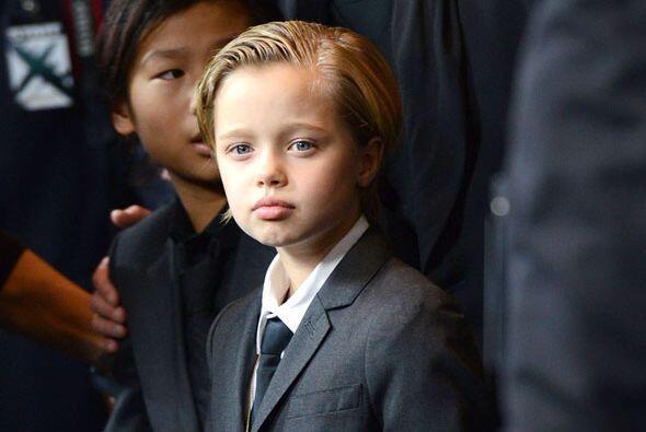 La hija de Brad Pitt y Angelina Jolie se robó las miradas la noch...