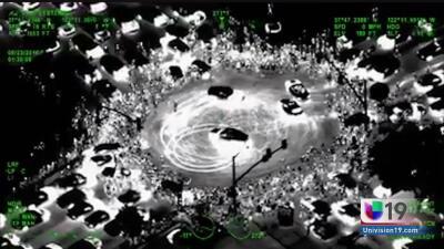 Disparos al aire, arrestos y policías heridos: así acaba ola de 'arrancones' masivos en California