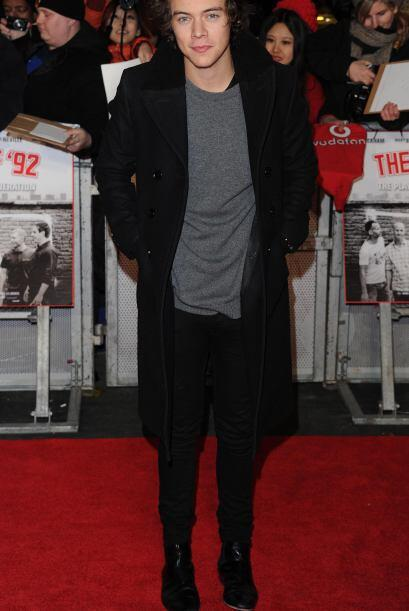 A su corta edad, Harry Styles es todo un icono de la moda.
