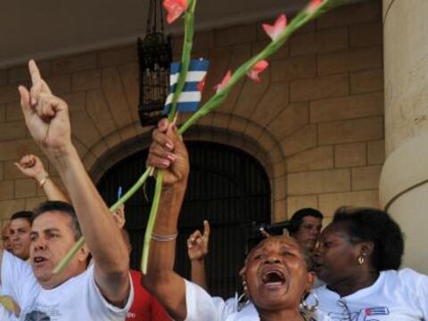 El gobierno cubano liberó este fin de semana al primero de trece...
