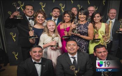 Galardonan a Univision 19 con 18 premios Emmy