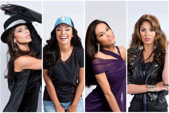 Estas son las imágenes oficiales del 'photoshoot' de las chicas de Lupit...