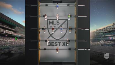 Forma innovadora de presentar el once ideal de la MLS en la temporada 2018