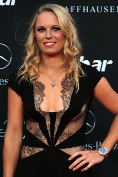 Carolina Wozniacki es una de las más lindas del circuito.