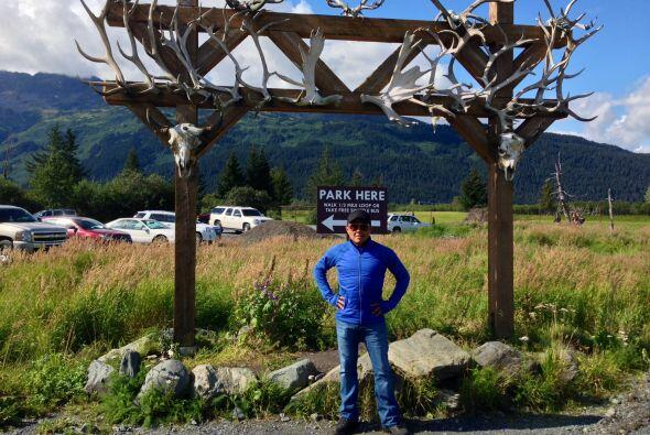 Ya con más tiempo de explorar, Raul regresó a Alaska Wildlife Conservati...