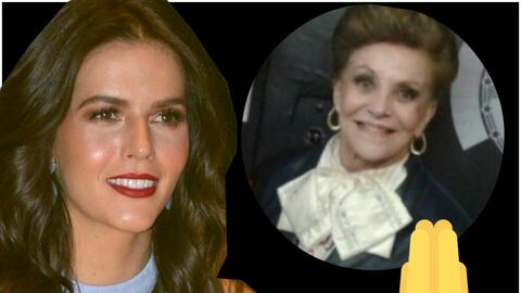 La actriz desaparecida en el terremoto de México es tía de...