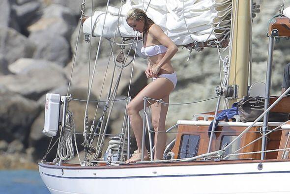 La rubia confesó que en este momento se siente más feliz con su cuerpo q...