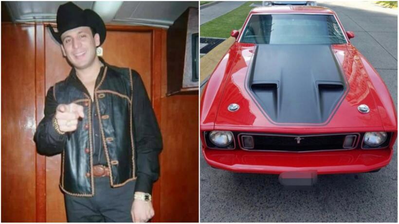 Ford Mustang Match One restaurado en honor a Valentín Elizalde