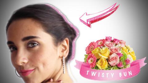 Peinado Twisty Bun (Pt. 1) - #NathLoUsa