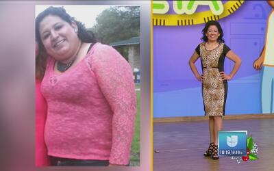 ¡Sí se puede! Ella borró el sobrepeso por completo de su vida