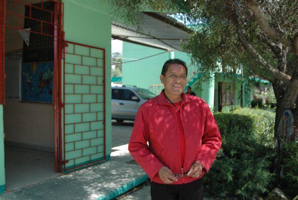 El profesor de secundaria, José Manuel Mendoza Guerra, dijo a Uni...