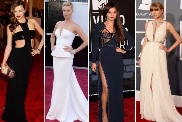 ¡Fabulosos 'looks' para grandes eventos y ocasiones! Estas fueron...