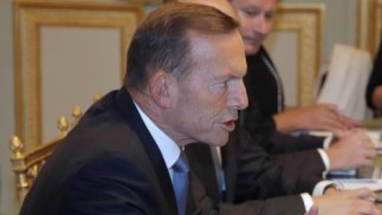 El primer ministro australiano Tony Abbott.