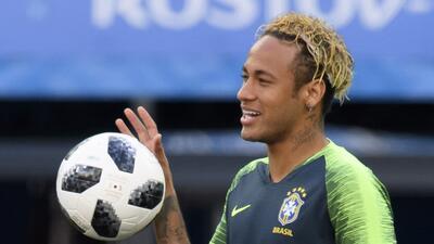 En fotos: Brasil y Neymar están listos para su debut contra Suiza