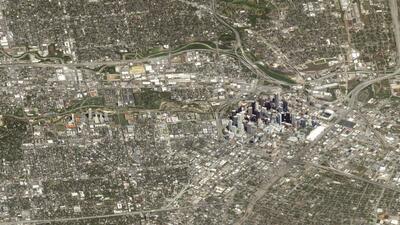 En fotos: La tierra vista desde el espacio como si fuera desde una ventana