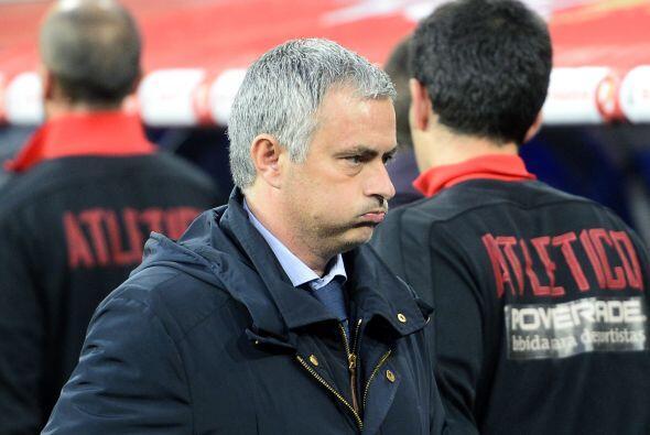 Tras el silbatazo del medio tiempo, Mourinho sabía que su equipo se salv...