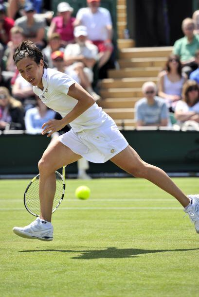 La finalista de Roland Garros, la francesa Francesca Schiavone, tambi&ea...