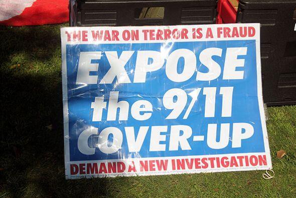 El grupo 'Movimiento por la verdad 9/11', manejó las 'explosiones' como...