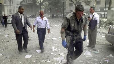 Imágenes como ésta contarán la historia de los fatídicos ataques del 11...