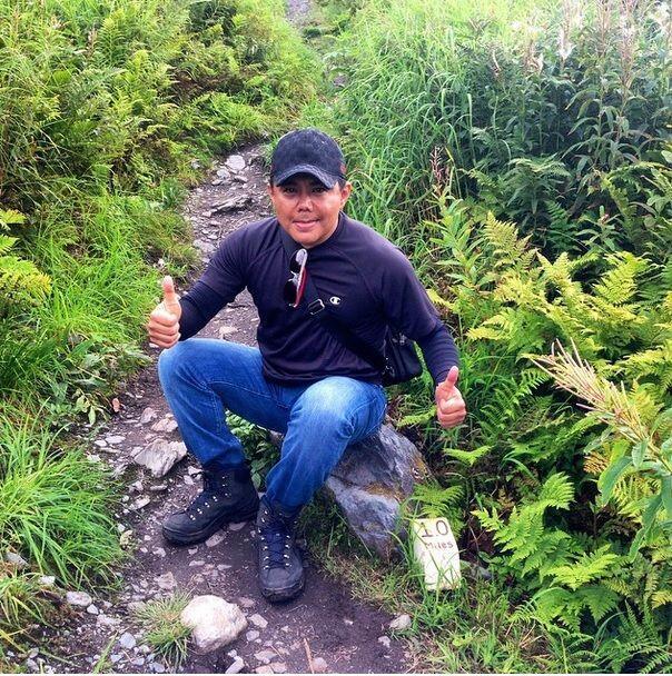 Este se trató de subir la montaña Alyeska caminando.