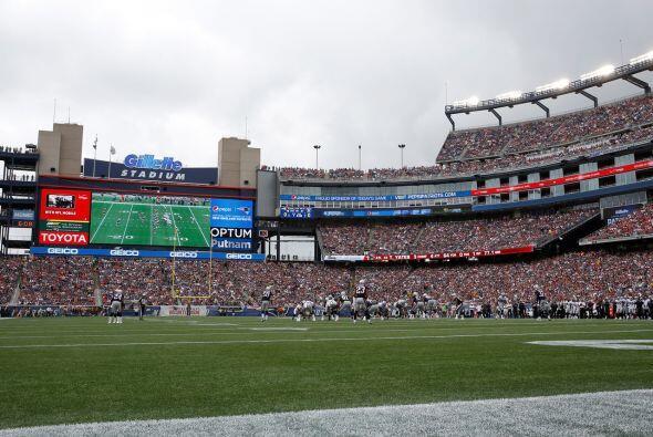 Jueves, Sept. 10 -- Steelers vs. Patriots, Gillette Stadium, Foxborough,...