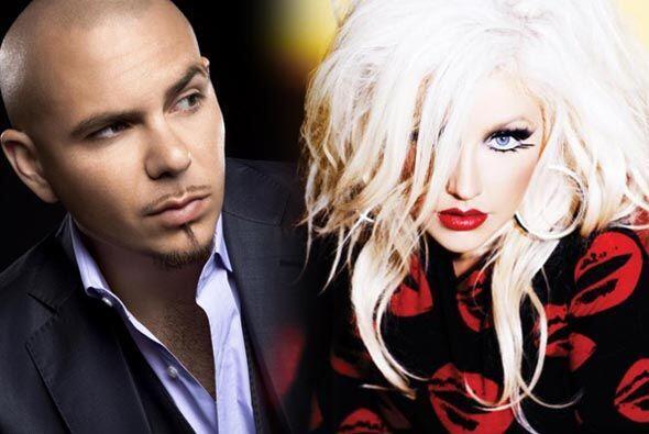 "#4 Pitbull Feat. Christina Aguilera- ""Feel This Moment""."