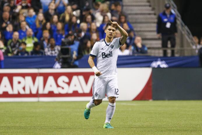Fredy Montero Vancouver Whitecaps vs Seattle Sounders