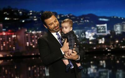 En esta foto del 11 de diciembre del 2017 difundida por ABC, Jimmy Kimme...