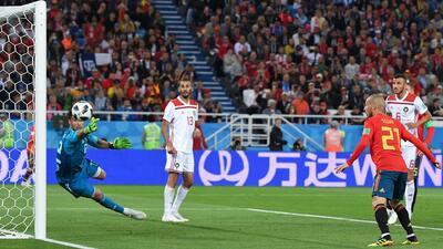 Análisis en 3D de los goles y las mejores jugadas del empate entre España y Marruecos a dos goles